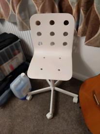 Children's IKEA desk chair