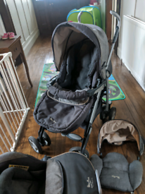 Silvercross Complete Travel System - Pram, Buggy and Car Seat