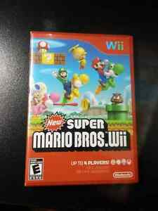 New Super Mario Bros , for Wii, complete in box with manual. Its