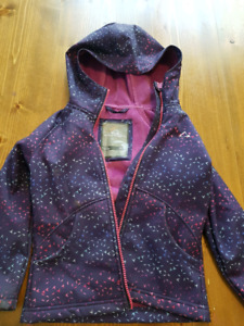 Kids water resistant spring jacket size XS(4/5)