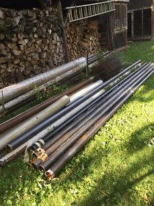 Steel Pipe For Sale ( Fence Posts )