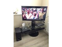 "Toshiba 42"" 3D TV with 3D glasses x2"