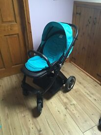 Pram, carry cot, colour pack etc Maxi Cosi car seat also available