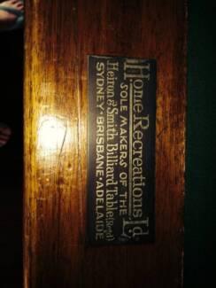 BILLIARD TABLE FULL SIZE Heiron&Smith  12ftx6ft