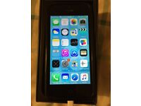 Apple IPhone 5 Black EE 16GB Original Box and charger Included