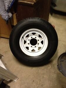 16 inch trailer tire and rim. ST 235/80 R 16