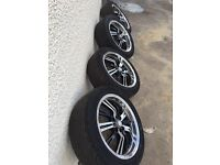 Alloy wheels 4 stud multi fit £120 ono