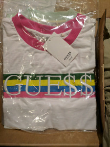 Guess A$ap Boxy Ringer Crop top tee ( small )
