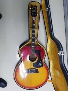 Ibanez acoustic guitar - gorgeous sunburst