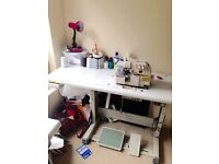 Joys high speed overlock industrial sewing machine