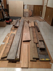Free lumber - 2x6, 2x8, 2x12 (UPDATED AD) - *pending pickup*