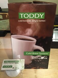 Toddy cold brew system- brand new..never used