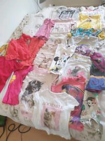Big bundle of beautiful girls tops size 2-4 yeras