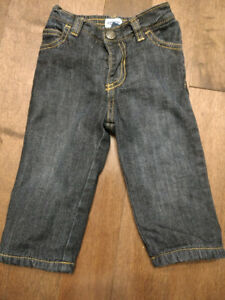 Old Navy Fleece Lined Jeans, 6-12 months