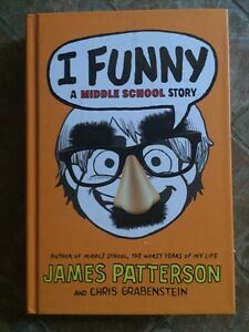 MIDDLE SCHOOL BOOK I FUNNY JAMES PATERSON
