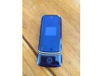 Motorola KRZR K1 mobile on EE