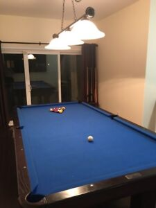 Dufferin slate pool table and accessories 5x9