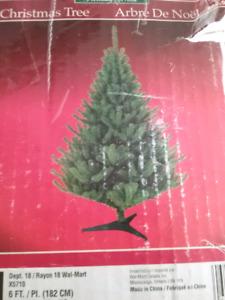 6 Foot Christmas Tree - $ 25