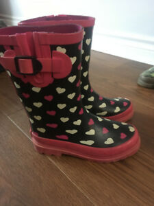 Girls Out Bound Rain boots Size 13