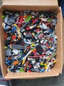 10kg Large Box of Random lego
