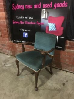 Beautiful Queen Anne parlour chair can deliver for a small fee  Penrith Penrith Area Preview