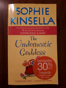 Sophie Kinsella: The Undomesticated Goddess - NEW, Soft cover