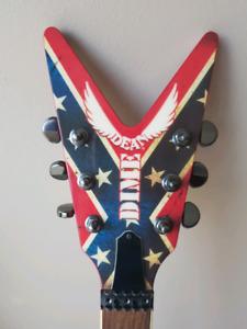 Dean Dime Dixie Rebel Guitar