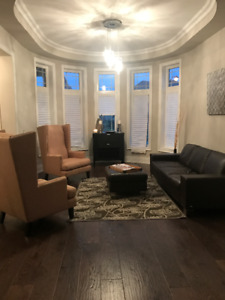 FURNITURE BLOW OUT SALE! COUCH, CHAIRS, ART, LIGHTS
