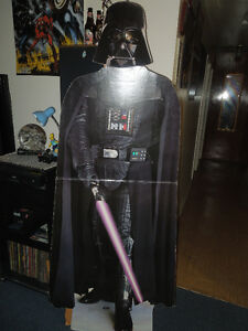 DARTH VADER CLASSIC LIFESIZE CARDBOARD STANDEE Kitchener / Waterloo Kitchener Area image 1