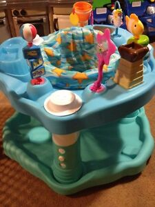 Beach exersaucer