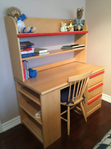 Solid Maple Student Desk & Chair