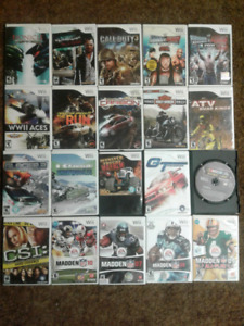 Lots of Wii Games for the Whole Family!