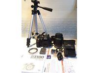 Nikon D D3100 14.2 MP Digital SLR Camera - Black (Kit with 18-55mm Lens)