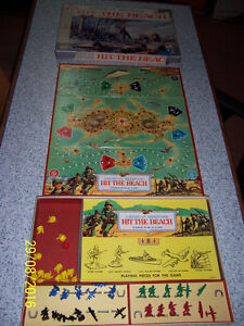 Vintage board game - Hit The Beach