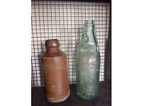 2 old bottles