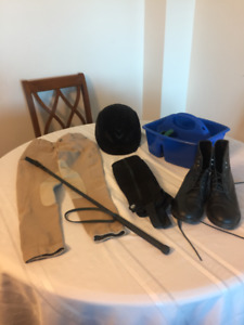 Equestrian riding boots/chaps/pants/gear