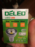 10 LED GU10 light bulbs