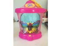 Little Live pets butterfly and holder.