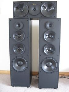 Nuance Tower Speakers with Center Channel