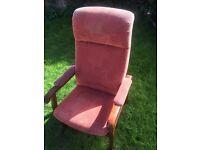 Hardback armchair