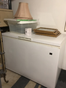 """Freezer in excellent condition. 46"""" long x 34"""" wide"""