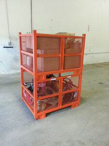 """46"""" x 36"""" x 34"""" Stackable Steel Crates for Sale Strathcona County Edmonton Area image 2"""