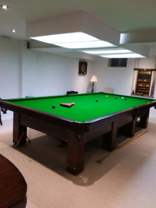 Pool Table 6' X 12'