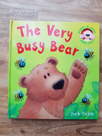 The Very Busy Bear Pop up Book NEW