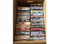 Job lot of over 850 DVDs ideal for your collection or to sell on