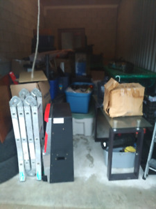 Storage unit sale lots of items