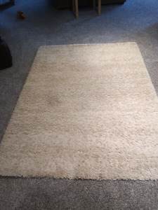 Shaggy area rugs