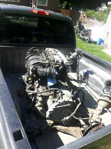 """Rsx motor and trans axles and spindles """"whole k frame """""""