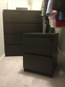 2 IKEA Malm nightstand London Ontario image 1