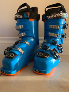 Tecnica Cochise Jr Youth Ski Boots - 2018 - Like New!